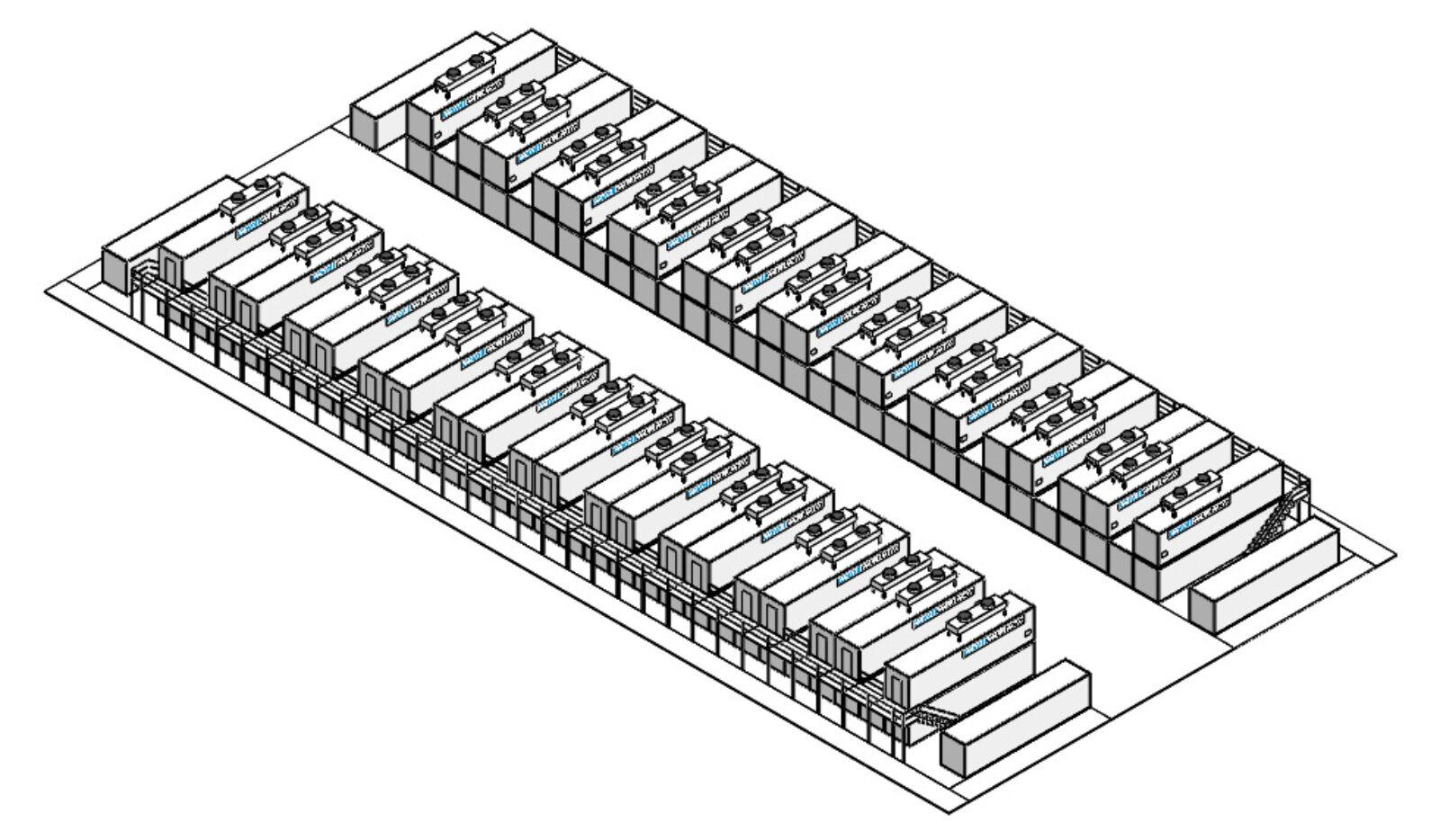 CellCube Bgr. 20x FB500 2000 R4 10MW 40MWh
