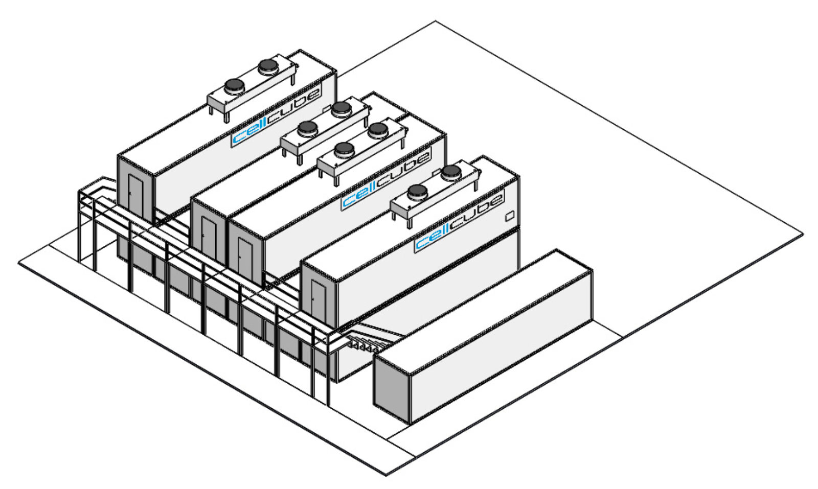 CellCube Bgr. 2x FB500 2000 R4 1MW 4MWh