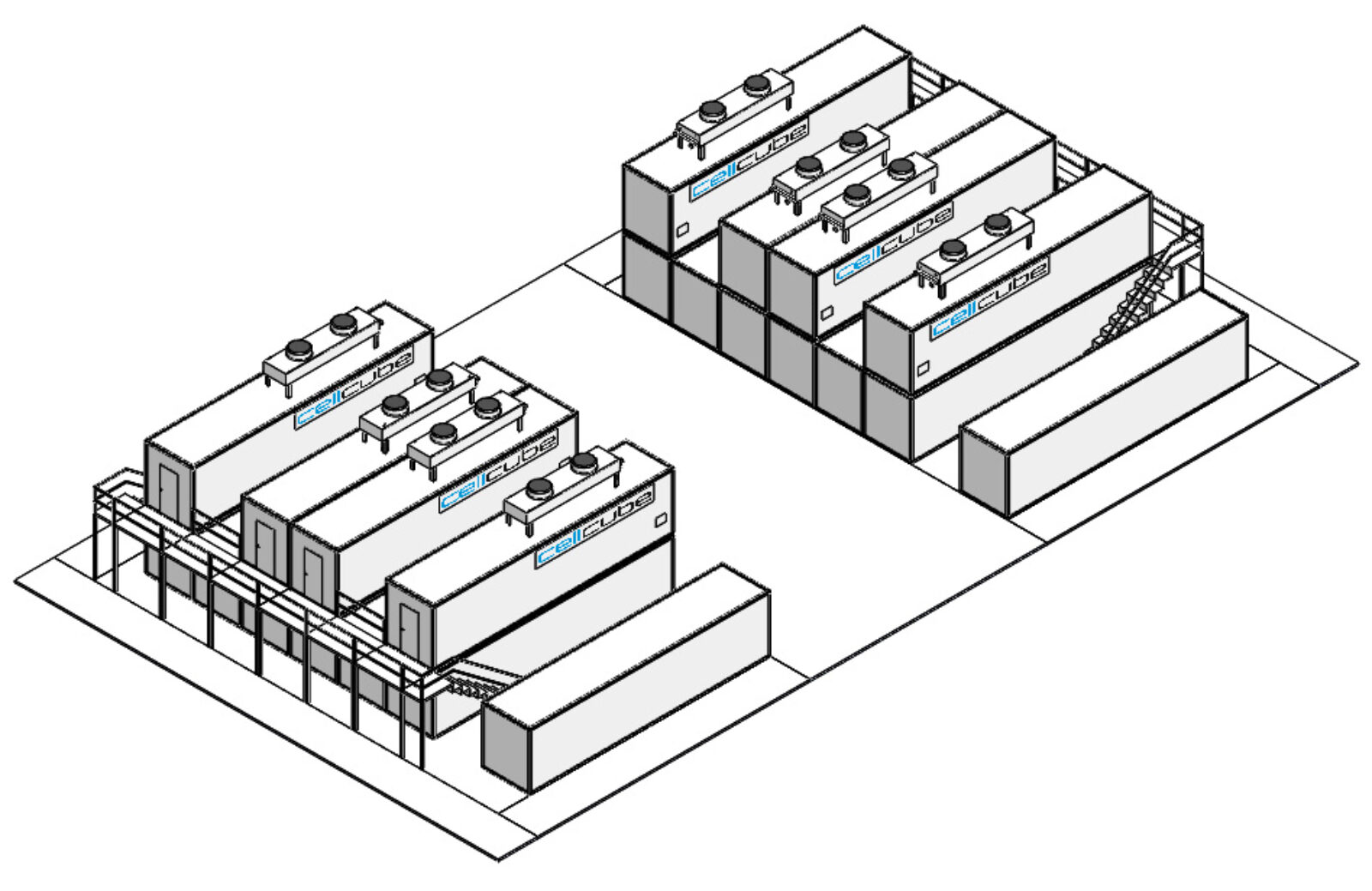 CellCube Bgr. 4x FB500 2000 R4 2MW 8MWh