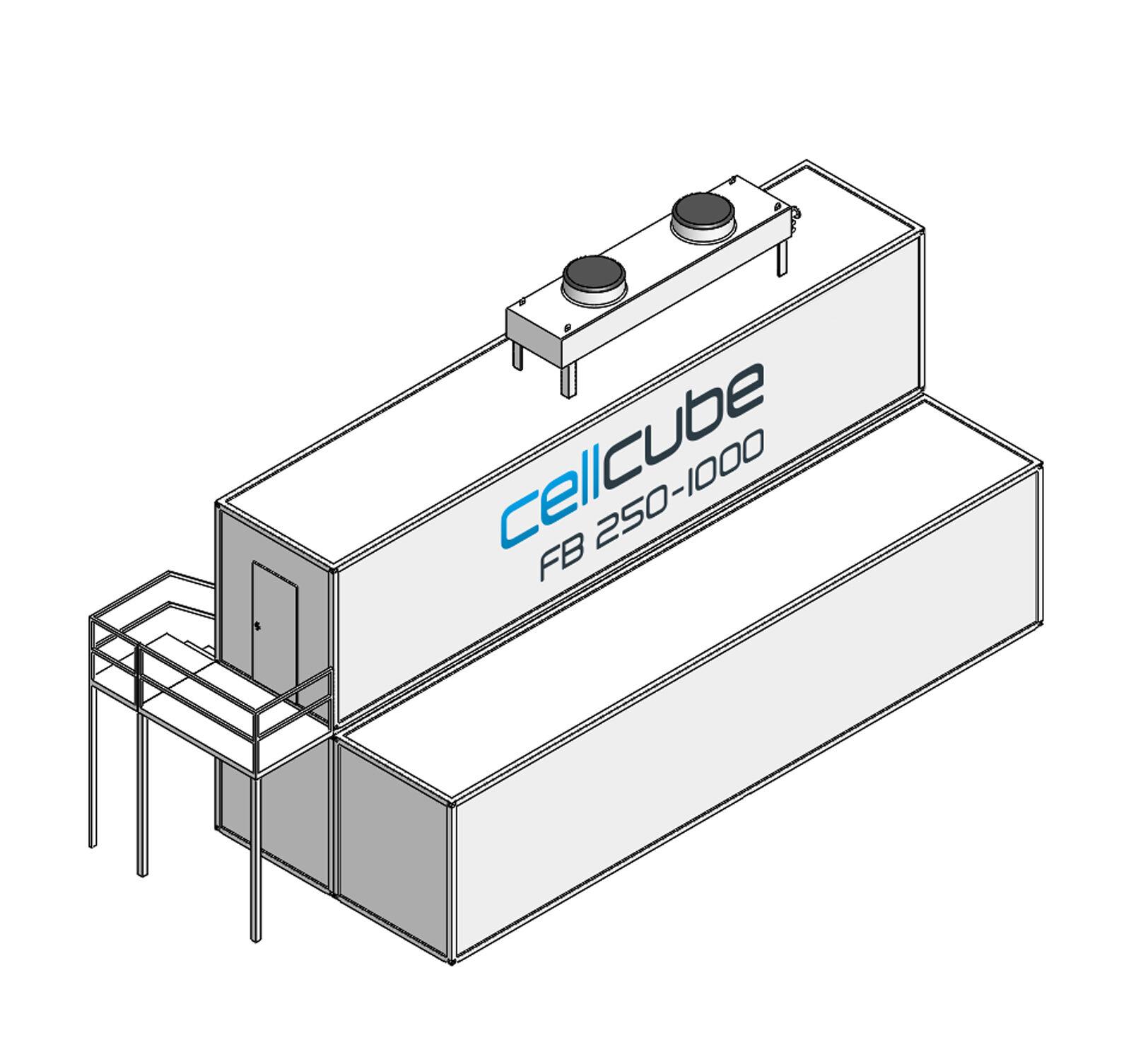 CellCube FB250 1000 R4 Mit Treppe