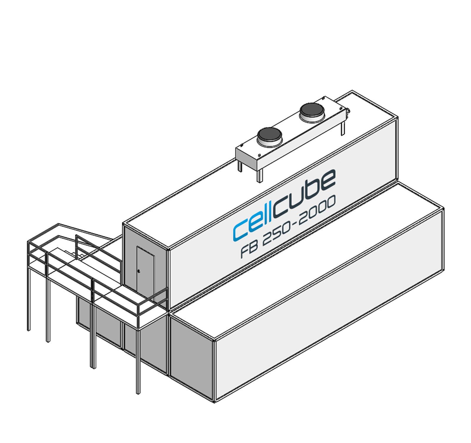 CellCube FB250 2000 R4 Mit Treppe