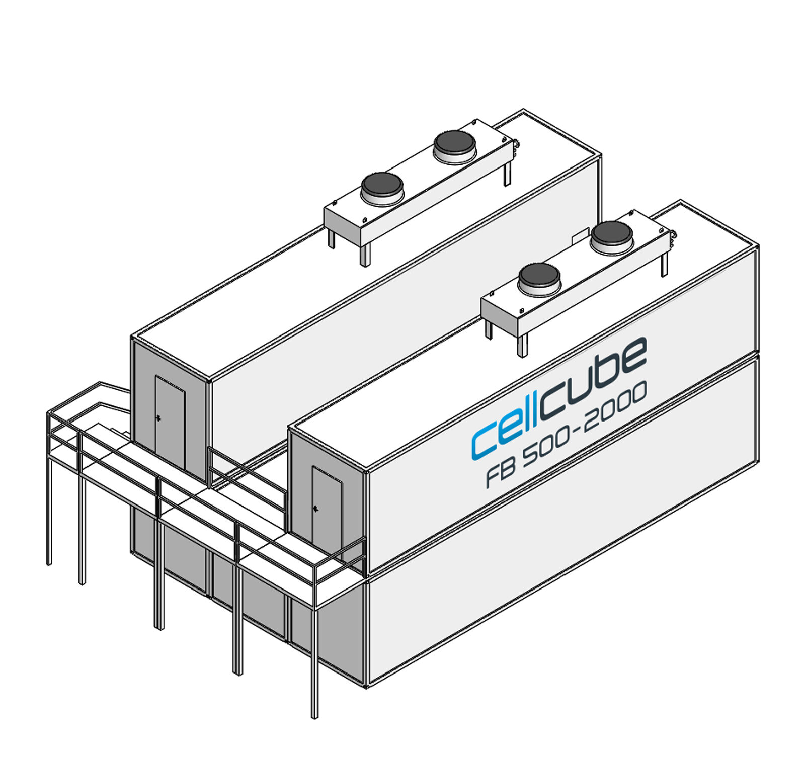 CellCube FB500 2000 R4 Mit Treppe