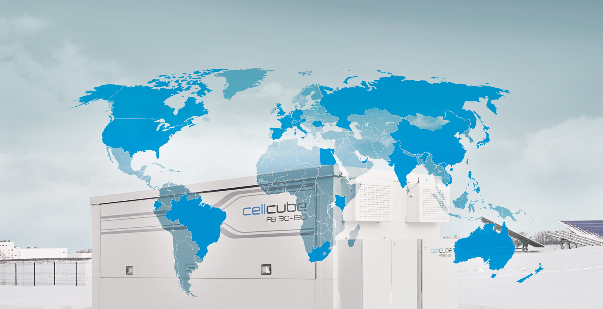 CellCube Projects Map Header
